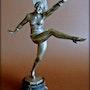 Danseuse Art-Déco. Marc Menzoyan Antiquités