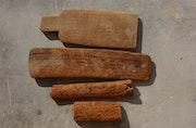 Lot de 4 tablettes en bois manuscrites, Maroc XIXème siècle. Jean François Antoine