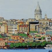 Istanbul, la Tour de Galata.