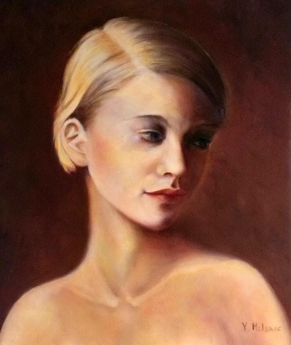 Portrait de Lee. Véronique Mcisaac Mcisaac Véronique