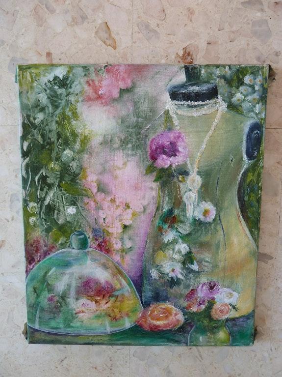 Mannequin aux fleurs. Henriette Capretti Henriette Capretti