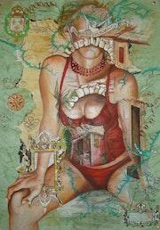 1592 (Serie Cartográfica). Gabriela Farnell