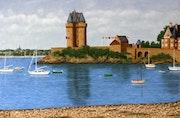 Le port de Solidor, Saint-Malo.