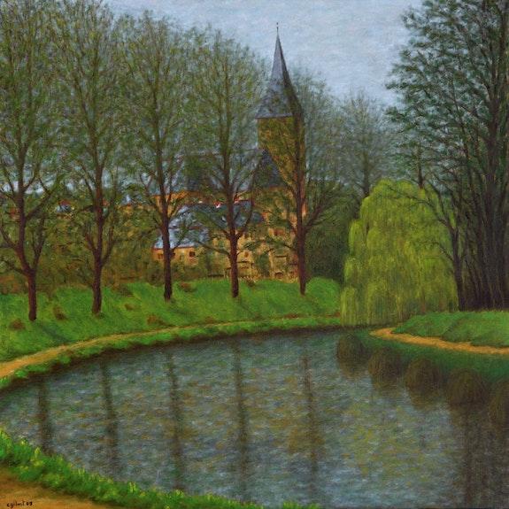 La courbe du cana d'Ille-et-Rance, Trévérien.. Claude Guillemet Claude Guillemet