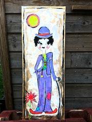 Miss Chaplin. Radmila Sally Stojkovic Burton