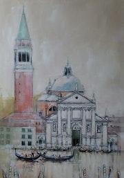 Basilique San Giorgio Maggione à Venise.