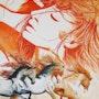 Songe équestre, n°297 08/2014. Jean Claude Ciutad-Savary. Artiste Peintre