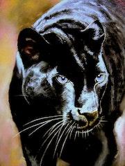 La panthère noire.