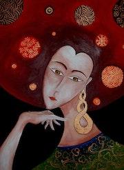Portrait femme.