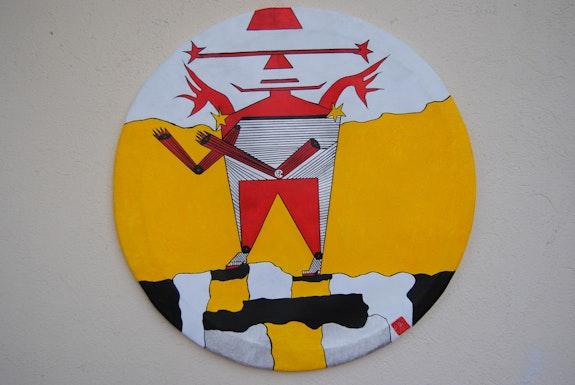 Robot dragon. Japon.. Claude Sauvage Créateur Du Mouvement / Rondisme. Claude Sauvage