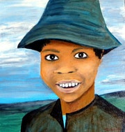 L'enfant au chapeau.
