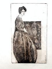 Frau in Geometrie 2.