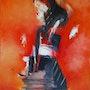 Geisha. Mireille Bacot