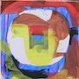 Arrache moyeux 7.50x50cm, gouache sur toile, 2011. Chez Moi, Chez Toi