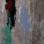 La Fin, série « Murs Murs » 50 X 50 cm, technique mixte,. Chez Moi, Chez Toi
