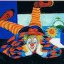 Série Arlequin, le Clown. Jipe Vieren