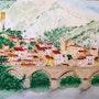 Village de Roquebrun n°318 02/2016. Jean Claude Ciutad-Savary. Artiste Peintre