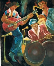 Trio avec saxo.