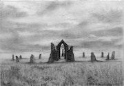Untitled (12) (Oratory and Stone Circle).