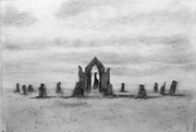 Untitled (12a) (Oratory and Stone Circle).