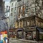 Paris, la rue des Lombards.. Stanislas Jung