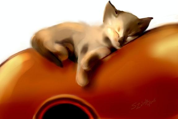 «The best place for a nap». Susana Zarate Susana Zarate