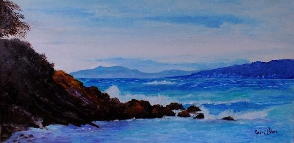 La mer dans le sud. André Blanc Andre Blanc