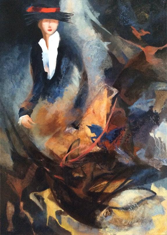 La cavalière de l'ombre. Régine G. Régine Guthmann