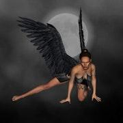 L'Ange de la nuit. Lacourly