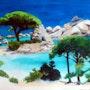 La plage mythique de Palonbaggia.