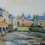 Le petit pont d'Asnières sur Vergue. Stephan Serais