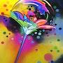 La fleur qui bulle. Catherine Wernette