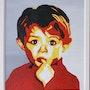 Portrait d'enfant. Jacques Tocut