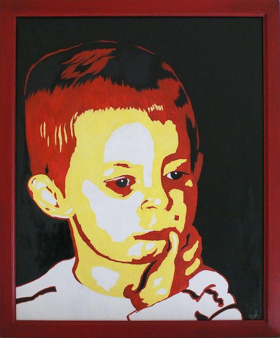 Portrait d'enfant 2. Jacques Tocut Jacques Tocut