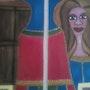 La femme. Evelyne Patricia Lokrou
