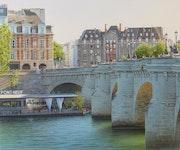 La vedette du Pont-Neuf.