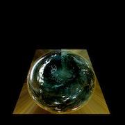 Goutte d'eau spatiale (Peinture en cours).