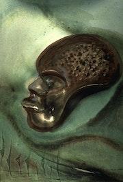 Afrikanische Maske.