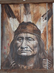Son of the star. Sitting Bull