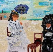 Damen und Meer. Thomas Sus