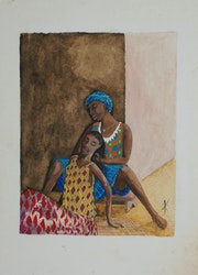 Tresses africaines.