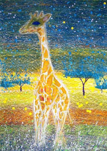 Giraffe. Evgeniy