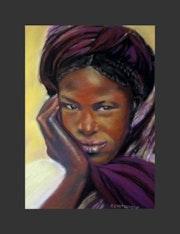 Jeune femme Africaine.