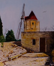 Le moulin de Daudet.