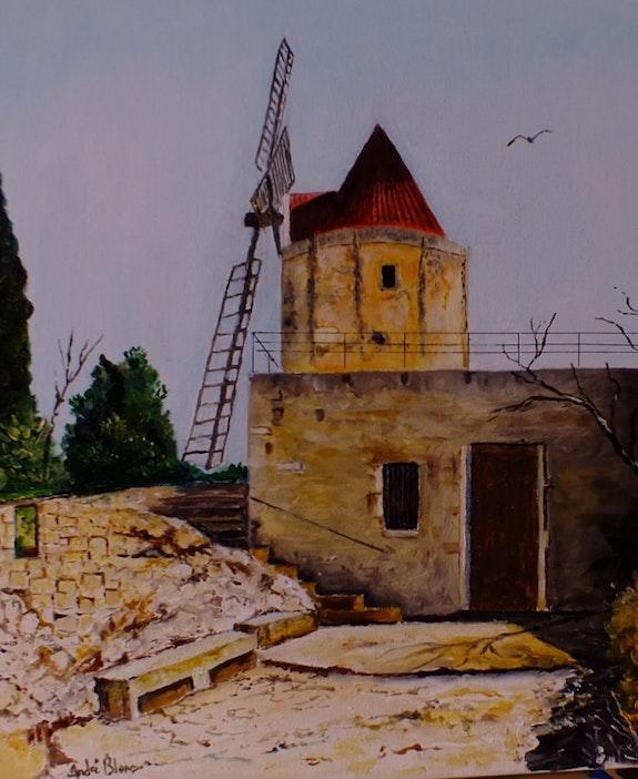 Le moulin de Daudet. André Blanc Andre Blanc