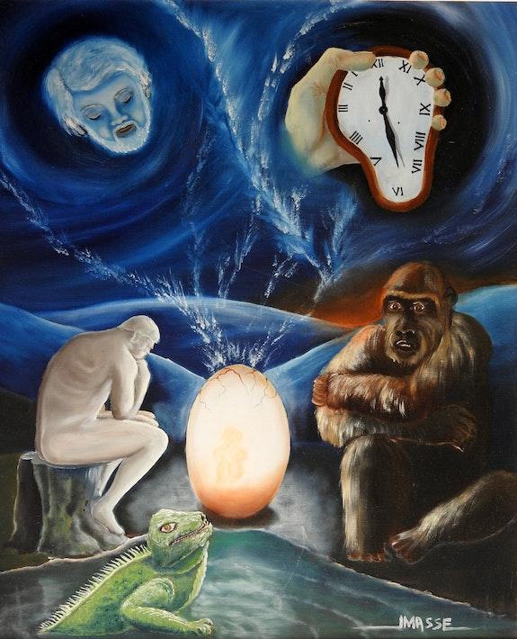 Question existentielle. Jm Masse Jean-Michel Masse