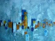 La city abstraction lyrique.