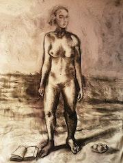 Mujer I - Serie. Juan Rafael Puyssegur