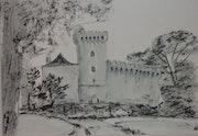 Le chateau de Morlanne.
