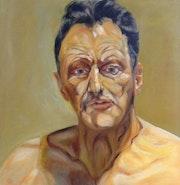 Autoportrait de Lucian Freud. Artiste Peintre / Jar